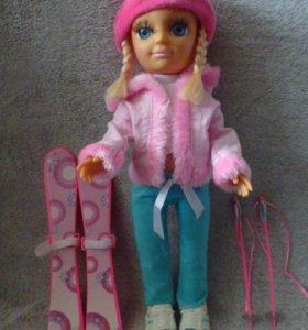Кукла лыжница.
