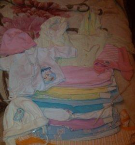 Пакет вещей для девочки, 6-9 месяцев