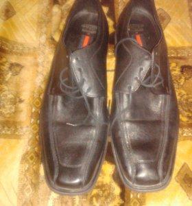 Мужские осенние туфли