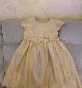 Платье рост 140 см.