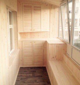Обшивка балконов, помещений.89274537798