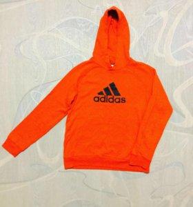 Спортивный костюм ( черно-оранжевый)