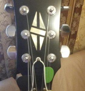 Shamray guitars из дерева махагони. Мастеровая