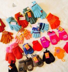Детские перчатки, варежки❄️❄️❄️