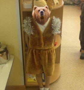 Новогодний костюм медведя