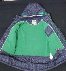 Куртка на мальчика. осень и до -5 мороза.