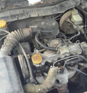 Двигатель с коробкой и навесным