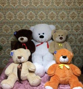 Плюшевые медведи больших размеров