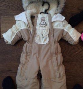 Зимняя и осенне-весенняя куртка унисекс.