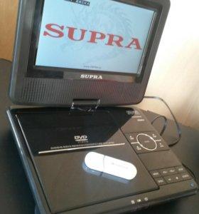 Портативный dvd плеер Supra