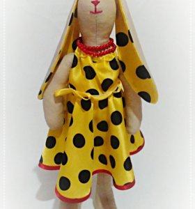 "Кукла ""Тильда"" в стиле стиляг."