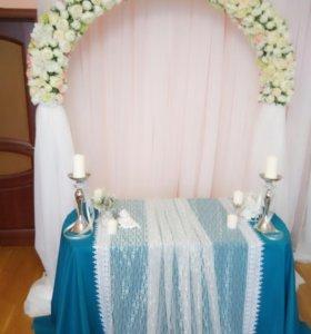 Оформление свадьбы, аренда, продажа арки