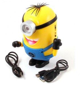 Колонка с MP3  Миньон Стюарт