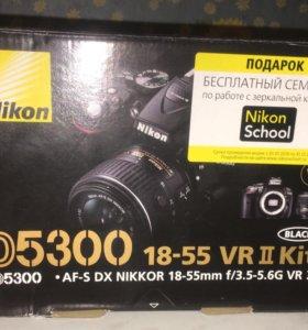 Nikon D 5300 18-55 VR 2