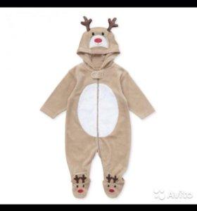 Новогодний праздничный костюм олененка