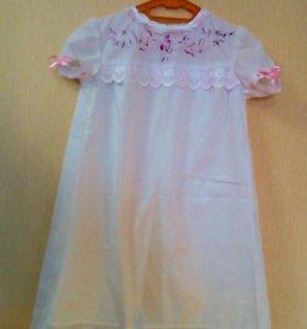Крестильное платье, именные крестильные рубашки