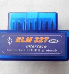 Elm327 OBD2/OBDII bluetooth wifi адаптер сканер
