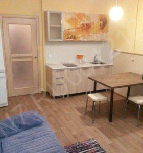 Квартира-студия Охтинская аллея дом 2