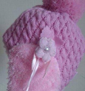 Новая зимняя шапка для девочек