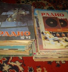 Журналы,атласы,книги по радиоэлектронике