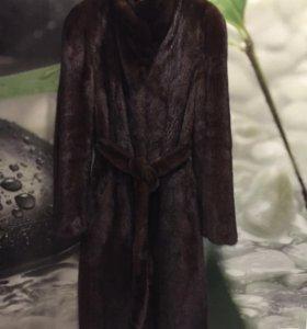 Норковая шуба
