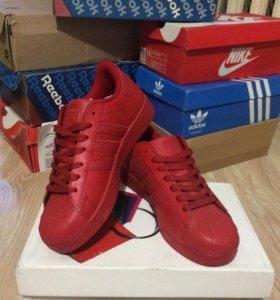 Кроссовки Adidas Super star новые