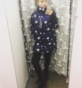 Куртка зимняя звезды