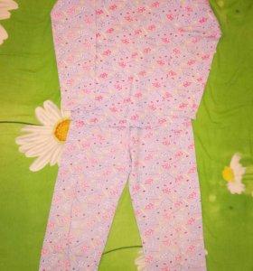 Тонкая пижама на 7-8 лет