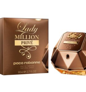 "Paco Rabanne ""Lady Million Prive"" 80 ml"