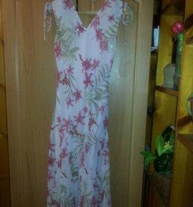 Платье летнее с подкладом