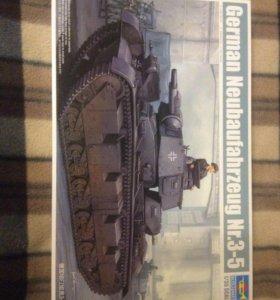 Модель немецкого танка сборная