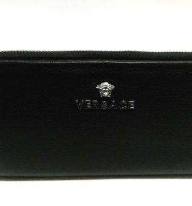 Клатч Versace / Версачи кожаный