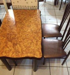 СТОЛЫ и стулья в наборе