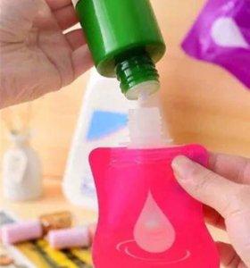 Туба для жидкого мыла, шампуня, геля