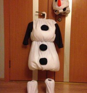костюм снеговик Олоф