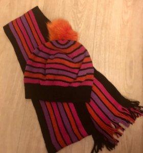 Набор:шапка +шарф