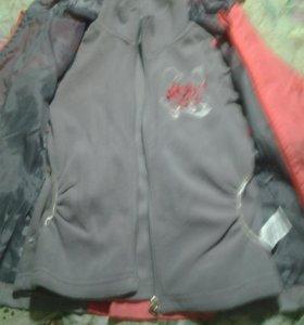 Куртка для девочки 3 в 1