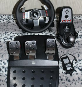 Проводной руль Logitech G27 Racing Wheel
