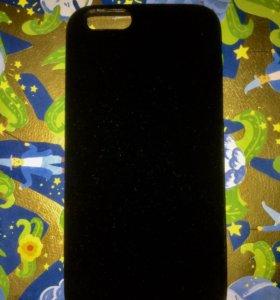 Бархатный чехол на IPhone 6
