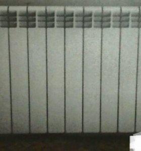 Радиаторы алюм. IPS(Италия)б/у.С зап.арм.и фитинг.