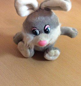 Игрушка для детей, мягкая игрушка заяц