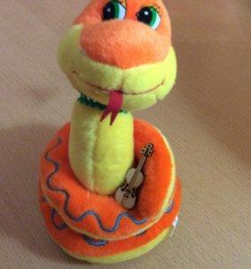Игрушка для детей, мягкая игрушка, змея