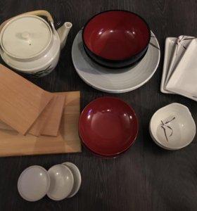 Новый набор японской посуды