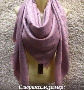 Палантины-шарфы с люрексом