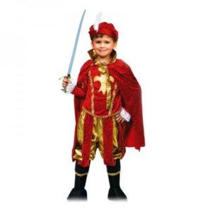 Карнавальный, новогодний костюм принц прокат