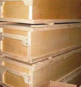 Ящик для хранения и перевозки пчелорамок