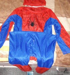 Человек паук новогодний костюм