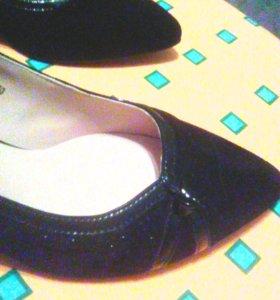 Туфли замшевые(натуральные)