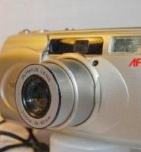 Пленочный фотоаппарат Olympus superzoom 80G.