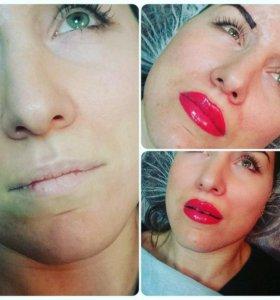 Татауж губ